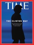 Republicans are excited about this Time cover because they think it makes Clinton look like she has devil horns. Seriously. Go check out National Review's blog if you don't believe me.