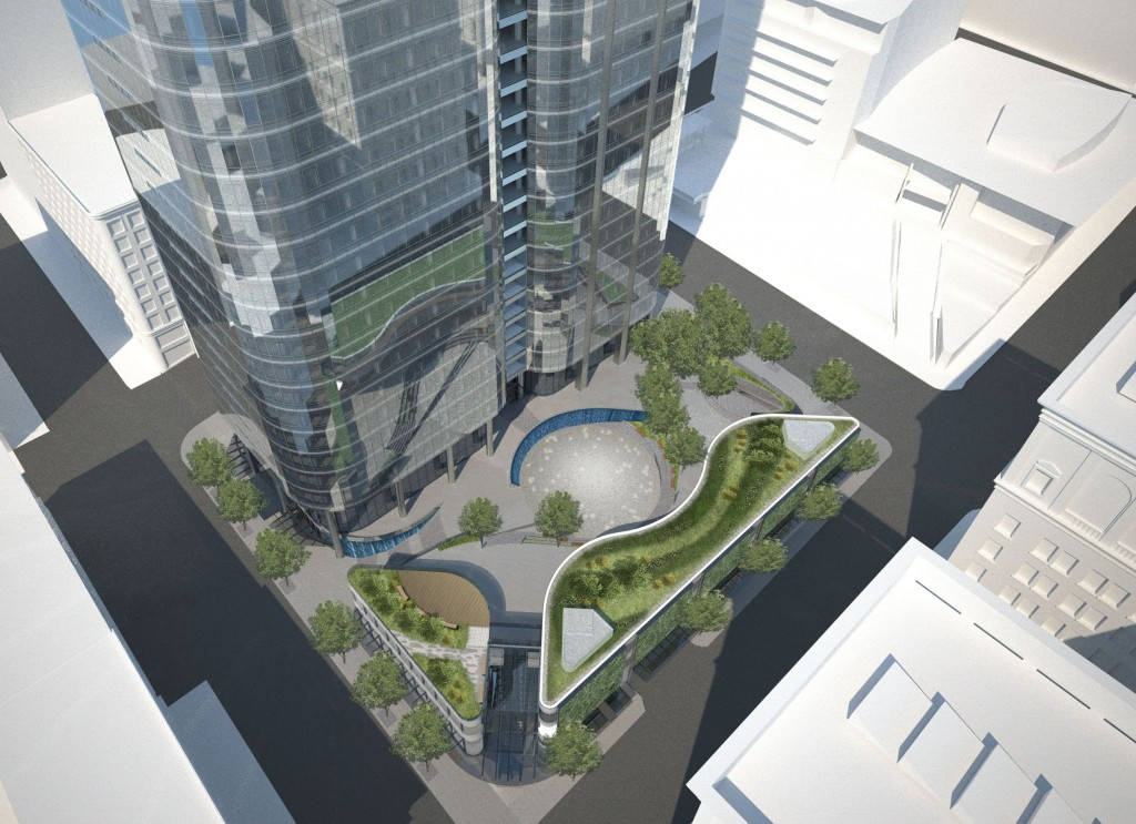 Civic Square rendering