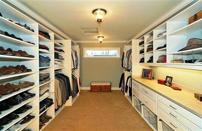 King County Councilmember Reagan Dunn's closet.
