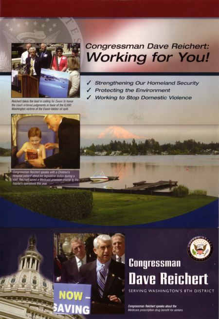 Reichert campaign flyer