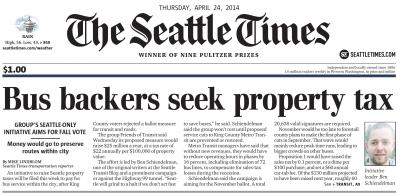 Seattle Times Plan C