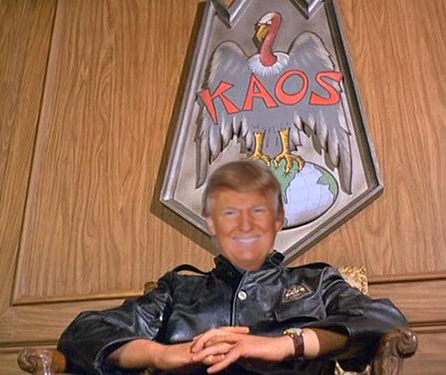 Image of Trump as President of KAOS