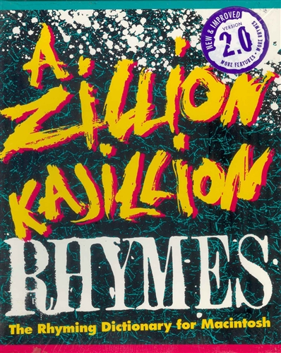 A Zillion Kajillion Rhymes