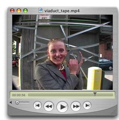 Viaduct tape video