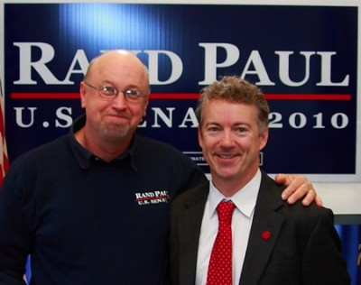 Rand Paul and head stomper Tim Proffit