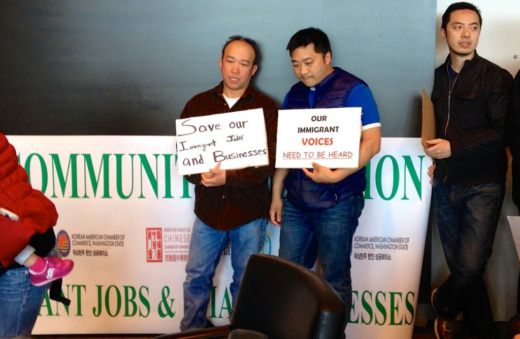 Immigrant business owners oppose $15 minimum wage