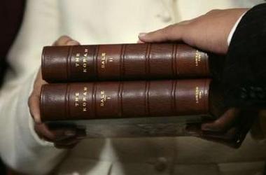 Koran closeup