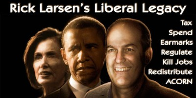John Koster wants you to know about Rick Larsen's liberal legacy