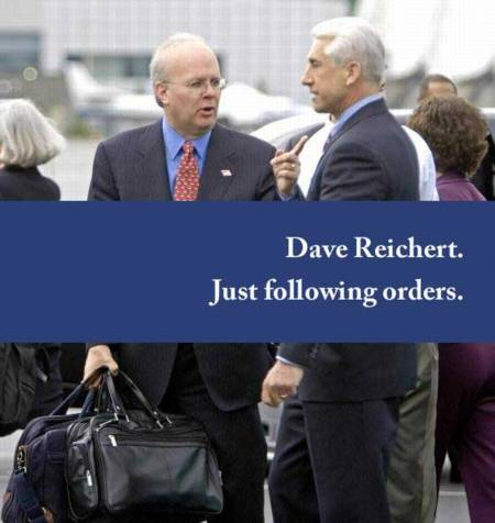 Reichert's new mailer