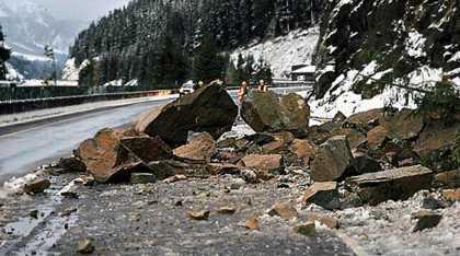 I-90 Rockslide